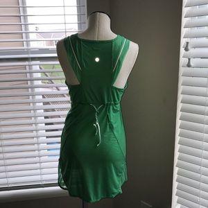 Lululemon green lightweight dress